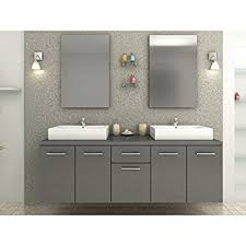 bathroom double sink vanity units. Double Sink Vanity Unit And Mirrors/Wall Lights Bathroom Units A