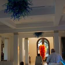 bob kuster left bill discuss next years upgrade to his chandeliers