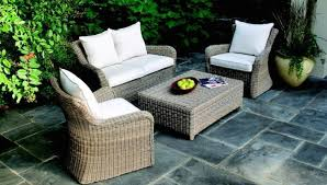 patio furniture has become outdoor living room furniture