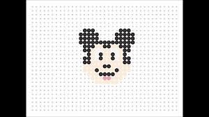 Perler Beads Mickey Mouse Designs Hama Bead Mickey Mouse Disney Series 3 Youtube