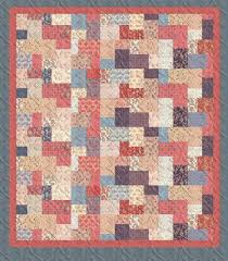 25 best Quilts - Double Slice Layer Cake images on Pinterest ... & Double Sliced Layer Cake Quilt Tutorial Adamdwight.com