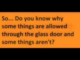 green glass door riddle