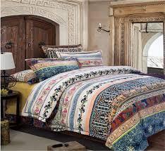auvoau home textileboho style bedding setbohemian bedding set bohemian