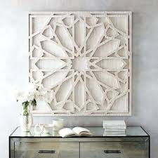 rustic white wood wall art