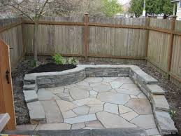 the good shape of flagstones patios. Flagstone Patio With Retaining Wall The Good Shape Of Flagstones Patios N