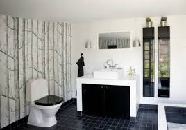 Wonderful Pictures Of Japanese Style Bathroom Design And Decoration Ideas :  Handsome Black And White Japanese ...