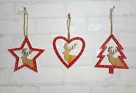 Fensterdeko Hängedeko Türdeko Winter Weihnachten Holz