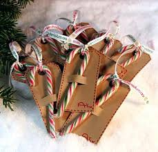 How To Decorate Candy Canes Candy Cane Decorations Candy Cane Gift Tags Candy Cane Decorations 9