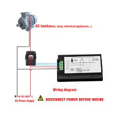 100a ac 80 260v digital voltage power monitor kwh watt meter volt 12 volt amp gauge wiring diagram 100a ac 80 260v digital voltage power monitor kwh watt meter volt amp voltmeter ammeter