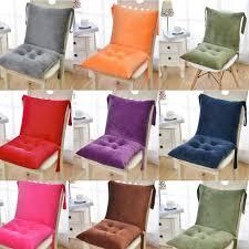 high backrest garden seat cushion