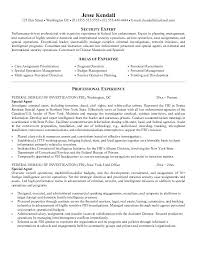 Special Agent Sample Resume Fbi Agent Resume Special Agent Resume Example For Sample Resume 1