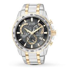 jared watches for men citizen men s watch chronograph at4004 52e