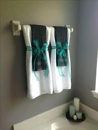 Decorating Towels In Bathroom Bathroom Towel Bathroom Decor With