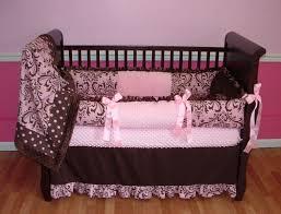 baby girl crib bedding sets pink and grey