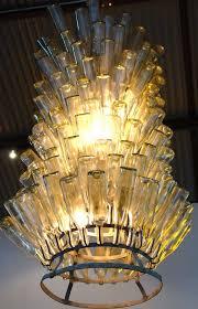 diy light fixtures glass bottle chandelier design lighting fixtures