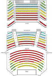 Seating Chart Central City Opera