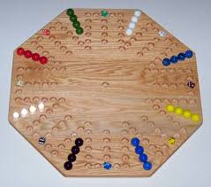 Wooden Game With Marbles Wooden Game Boards Wooden Marble Game Board Aggravation 100 90