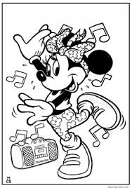 Small Picture Minnie mouse hip hop dance coloring pages