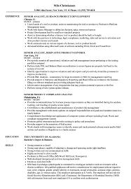 Product Analyst Resume Sample Product Senior Analyst Resume Samples Velvet Jobs 14