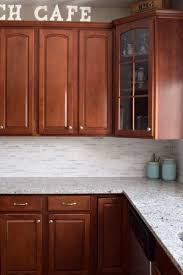 Kitchen Counter And Backsplash Ideas Classy Kitchen Makeover Reveal Favorite Craft Ideas DIY Pinterest