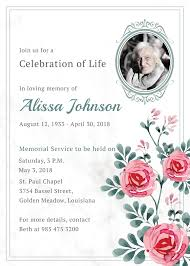 memorial service invitation memorial service invitation template in adobe illustrator photoshop