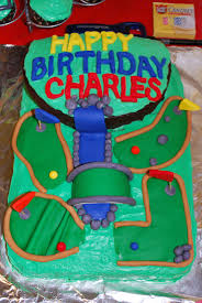 Mini Golf Cake Ideas 79796 Mini Golf Birthday Cake Stella