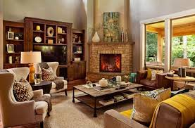cozy living room with fireplace. There\u0027s A Lot Going On In This Living Room, But Each Area Has Items Grouped Cozy Room With Fireplace
