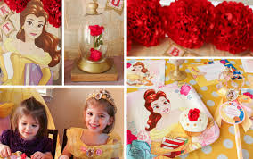 Belle Birthday Decorations Princess Belle Party Ideas Disney Party Ideas at Birthday in a Box 14