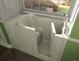 safety tubs 48 w x 28 d jet massage walk in bathtub right hand drain at menards