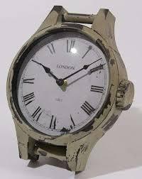 vintage watch desk clock