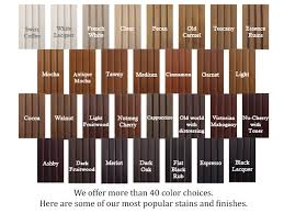 stain colors for custom cabinets in las vegas