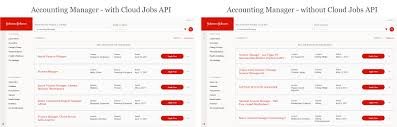 example of improved job search accuracy with google for jobs