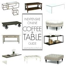 great resource for inexpensive coffee tables budget coffee table