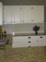 White Cabinets With Oil Rubbed Bronze Hardware And Hinges Home