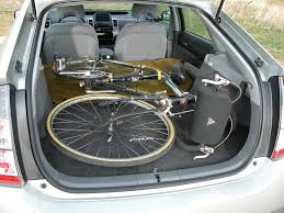Will Bikes Fit in the Trunk? | PriusChat