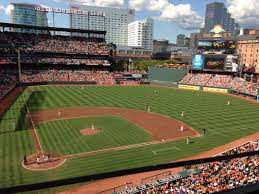 Baltimore Orioles Camden Yards Seating Chart Oriole Park At Camden Yards Section 328 Row 1 Seat 13