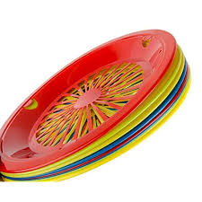 table to go reusable plastic plate