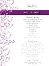 Wedding Program Templates Free Word Templates For Wedding Programs Free Program Microsoft Publisher