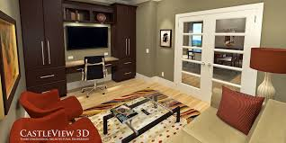 home office study. 3d Rendering Of Home Office/study Office Study I