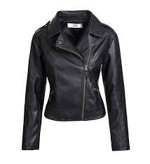 artfasion womens tailoring leather jacket
