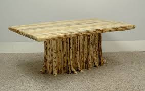 ... Table Legs Ideas 25 Rustic Log 6 Branch Stump More Side Home Design 10  ...