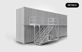 16 steigungen = 15 stufen + podest. Industrie Und Anlagenenbau Altec Aluminium Technik Gmbh Co Kgaa