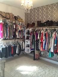 Walk In Closet Pinterest Extra Bedroom Turned Into Walk In Closet This Is What I Did