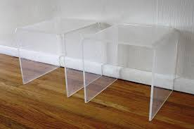 plexiglass desk