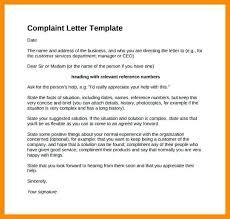 Complaint Format Business Complaint Letter Complaint Letters Sample Complaint Letter 20