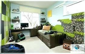 Minecraft Bedroom Decor Bedroom Bedroom In Real Life Gorgeous Bedroom Decor  Game Room Decor Themed Bedroom