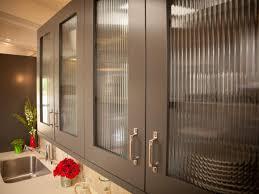 ... Luxury Glass Kitchen Cabinets With Modern Sink