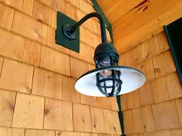 rustic log cabin outdoor lighting rustic light post installing on home ideas with regard to dimensions