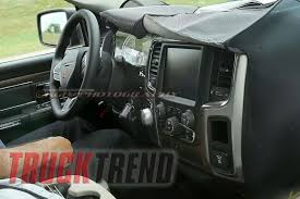 2018 dodge 2500 interior. interesting interior 2018 ram 1500 interior spy photo throughout dodge 2500 e