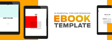 Ebook Template 10 Essential Tips To Design Your Digital Book Map Systems